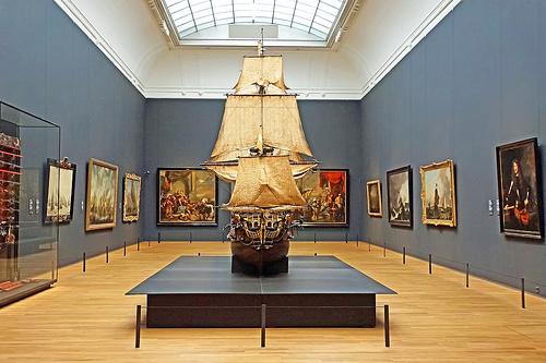 Pirate ship antique